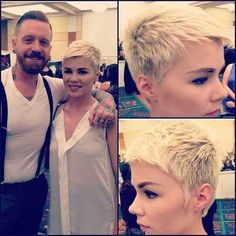15 Popular Very Short Hairstyles: #15. Spiky Pixie Haircut