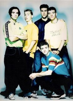 N'Sync... Omg look at how young they were here!