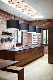 industrial kitchen - my cabinets are about this color, and same style Oak - looks great with matte black - rethinking the paint in there now that I will have matte black range as well