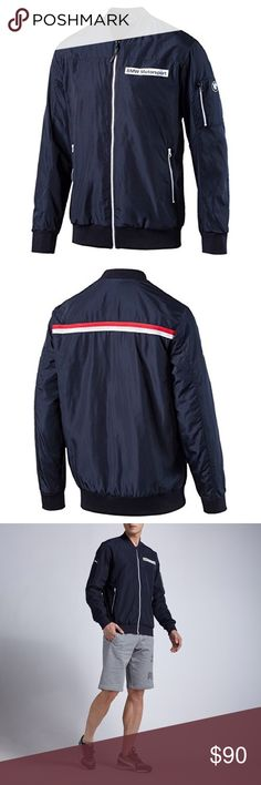 65e28408c9db PUMA BMW Motorsports Statement Jacket 🔥🔥🔥 Very hot PUMA BMW jacket!! You  cannot go wrong with this piece!! It had been worn once maybe twice and is  still ...