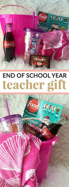 So how do you say THANK YOU to that special person in your child's life? END OF SCHOOL YEAR TEACHER GIFT