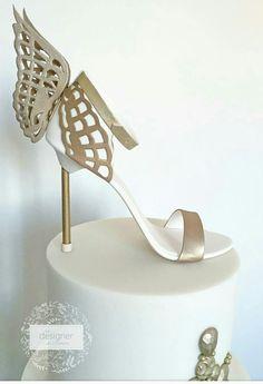 Gorgeous fondant shoe