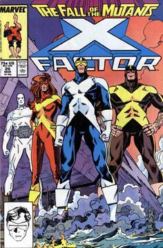 X-Factor issue 26 cover by Walt Simonson