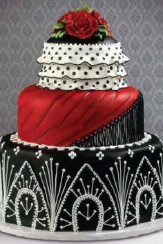 Beautiful detailed cake