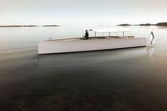 Helsinki 12 – Silent Motor Boat Concept. Design by Aivan.