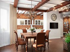 Кухня - Интерьер трехкомнатной квартиры в стиле Лофт для пары с ребенком, 100 кв.м.