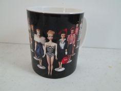 Barbie Va. Fashion Doll Club Mug No.#1 Barbie Coffee Tea Mug