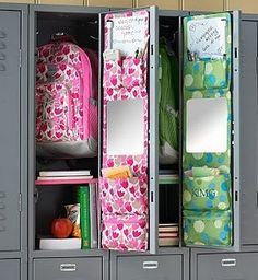 For the future. :) This is an awesome way to organize a locker.
