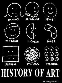 History of art --- actually pretty useful information and not at all funny .. prob cause i don't know art