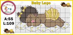 Cross Stitch Baby, Cross Stitch Charts, Cross Stitch Patterns, Doll Patterns, Crochet Patterns, Knitting Designs, Crafts To Make, Crochet Baby, Baby Dolls
