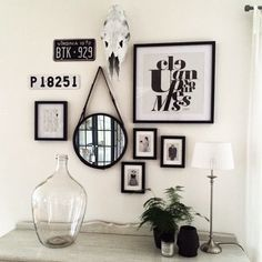 37 creative wall decor ideas to make up your home 9 Interior Design Help, Home Room Design, Interior Decorating, Diy Room Decor, Living Room Decor, Bedroom Decor, Home Decor, Creative Wall Decor, Creative Walls