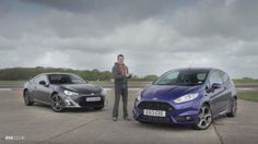 The Ford Fiesta ST battles the GT86 on track