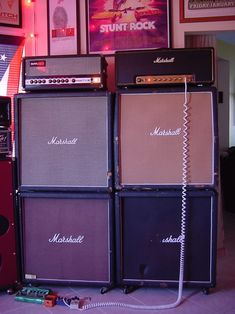 Marshall and Sunn rig you gotta dig that Small box!!!!!