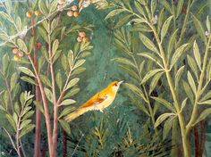 Decoration of the House of the Golden Bracelet, by Unknown Artist, 1st Century, painting on wall. Italy, Pompeii, House of the Golden Bracelet