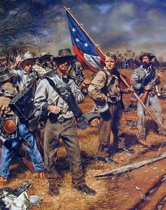 Confederate soldiers of Tennessee