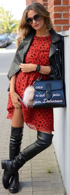 Fashion Trends Daily- 34 Great Fall - Winter Outfits On The Street 2016