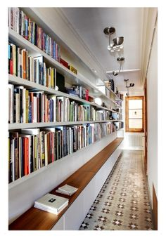 9 Creative Book Storage Hacks For Small Apartments - - It's a hard knock life for big readers in small spaces. But not for long. DIY any of these creative book storage hacks for small apartments.
