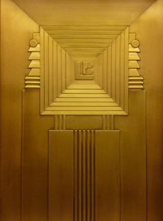 Art Deco Elevator at the Lefcourt Clothing Center, 275 7th Avenue, NYC; photographed by Navema Studios (2010). via navema on flickr