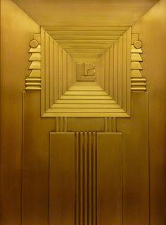 Lefcourt Art Deco Elevator