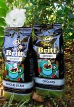 Café Britt Espresso has a rich, natural sweetness and delicious intensity making a superb espresso, cappuccino, latte, or café au lait.    It is a widely recognized fact that Costa Rican coffee makes some of the best espresso due to the natural sweetness and acidity of the pure, high grown Arabica beans. Through careful selection, we have created a mix of beans suitable for a very dark roast, characteristic of the finest Italian espresso.
