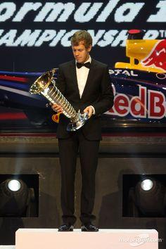 a dapper Sebastian Vettel