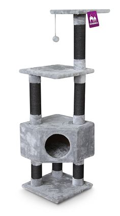 Kings and Queens Elizabeth 135Royal Petrebels Scratching Post Grey -- Want to know more, click on the image. #CatScratchersandFurniture