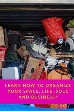Learn how to organize your space, life, soul and business using the Organizational Roadmap Checklist. Get yours free today!