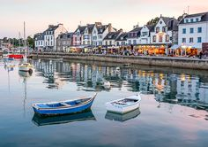 La Trinite-Sur-Mer, one if my favourite towns in Brittany.
