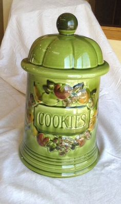 Vintage Cookie Jar made in USA by Los Angeles Potteries