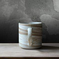 Nerikomi Lines Retro Ceramic Mug