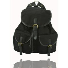 The Chrysler Rucksack by Anna Smith in Black