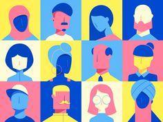 Diverse People by Konstantinos Pappas