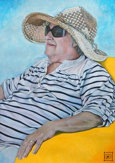 Tina by Abby Skinner Sky Art, Fine Art, Illustration, Artist, Artwork, Portraits, Medium, Fashion, Moda
