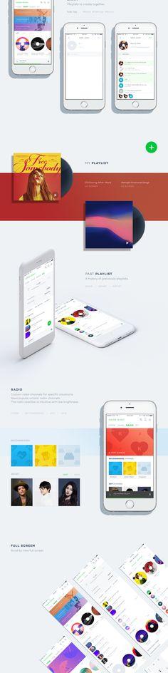 Naver Music on Behance