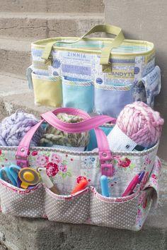 FREE Oslo Craft Bag pattern