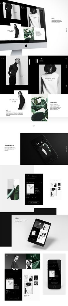 https://www.behance.net/gallery/34786191/Epur - The overall web design stays with the overall identity and colour scheme creating and overall very clean and grabbing design for the brand.