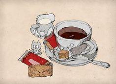 出水ぽすか(ポ~ン)(@DemizuPosuka)さん | Twitter Doodle Inspiration, Character Inspiration, Watercolor Food, Food Drawing, Illustrations And Posters, Anime Chibi, Art Forms, Food Art, Art Reference