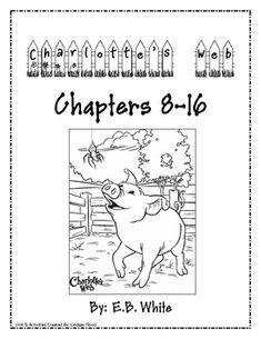 Free printable charlottes web coloring pages 2