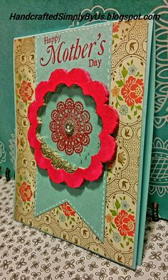 Doilie Mother's Day Shaker Card