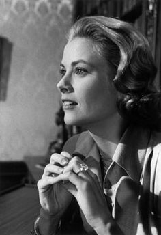 Grace Kelly in the film High Society (1956)  wearing her Cartier Engagement Ring  Credit: Dennis Stock/Magnum Photos NO ONE LIKE HER EVER.