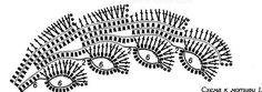 Airiškas nėrimas 1 - Dalia Ivanova - Álbuns da web do Picasa Irish Crochet Charts, Irish Crochet Patterns, Granny Square Crochet Pattern, Crochet Diagram, Freeform Crochet, Crochet Motif, Knitting Patterns, Knit Crochet, Crochet Leaves