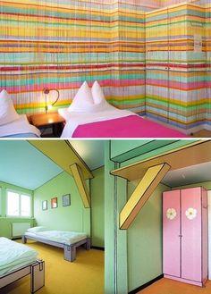Art Luise - Schlafen wie im Comic <3 #Berlin #Hotel