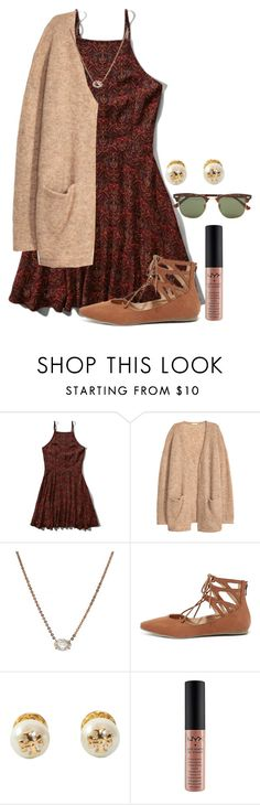 """""""Fall Fashion 101"""" by flroasburn ❤ liked on Polyvore featuring Abercrombie & Fitch, H&M, Anita Ko, Liliana, Tory Burch and Ray-Ban"""