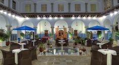 El Minzah Hotel , Tangier, Morocco