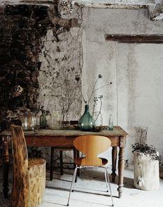 Die boomstronk-stoel is echt geweldig!!
