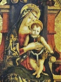 Carlo Crivelli (Italian artist, c 1430-1495) Madonna and Child