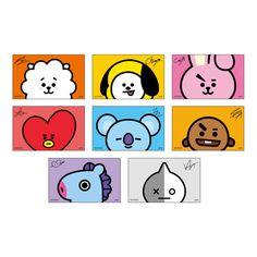 Cute Wallpaper Backgrounds, Bts Wallpaper, Cute Wallpapers, Kpop Diy, Bts Birthdays, Bt 21, School Labels, Tumblr Stickers, Kawaii Stickers