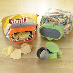 Copco Bag Caps: salgadinhos e sucrilhos murchos nunca mais!