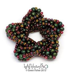 gwenbeads: Trefoil and Cinqufoil Knots in CRAW and Arm Warmers