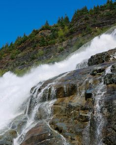Juneau Alaska Travel ↠ Nugget Falls | Mallorie Owens Alaska Cruise, Alaska Travel, Alaska Trip, Juneau Alaska, Night Time, All Over The World, Trail, Places To Visit, Hiking